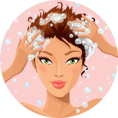 soin lavant des cheveux / Droit d'auteur: <a href='https://fr.123rf.com/profile_deedl'>deedl / 123RF Banque d'images</a>